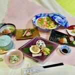 美味彩 - 料理写真:三月の会席