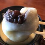 桃太郎茶屋 - ほ~~ら、餡子入ってるよ