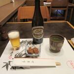 竹葉亭 - ビールなど