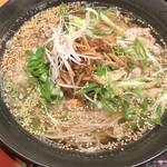浪花そば - 葱肉蕎麦