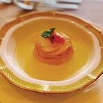プティレストラン グーテ - 料理写真:ウニのムースプリング