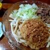 吉田のうどん 富士 - 料理写真:肉ぶっかけ600円