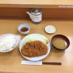 134781715 - ロースかつ定食(大) 970円(税込)