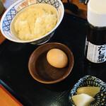 いろりや - 特製だし醤油の卵かけご飯