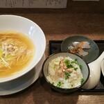 狐狸丸 - 茶漬けセット(塩・淡麗)