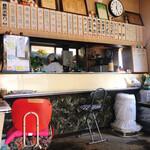米田食堂 - この日はメニューがほぼ裏…