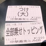 134788412 - 食券
