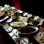 神楽坂 久露葉亭 - 料理台