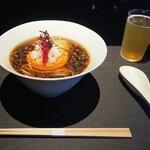 Vegan Ramen UZU KYOTO - ビーガンラーメン醤油(1200円)