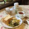 カールトンティーハウス - 料理写真:デラックスセットとセイロンティ