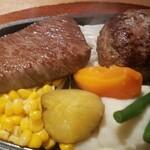 Mitoyazawa - イチボステーキ、ハンバーグ 4,200円