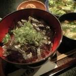 四季 彩粋 - マグロユッケ丼定食