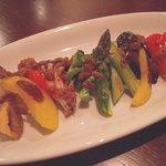 ダイニング さんさん - 季節の温野菜 味噌アンチョビソース