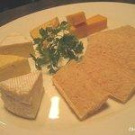 アフターグロウ - チーズ盛り合わせ