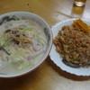 ヤマトたこやき - 料理写真:チャンポン&焼飯