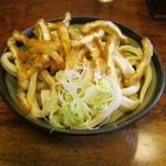 大木うどん店 - もり(細麺)の麺です。
