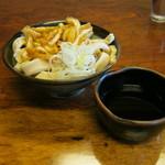 大木うどん店 - もり(太麺)です。