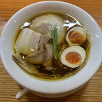 134803677 - 醤油の純鶏そば(味玉) ¥900