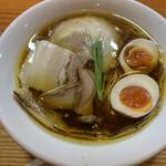 134803680 - 醤油の純鶏そば(味玉) ¥900