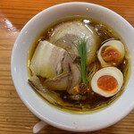 134803688 - 醤油の純鶏そば(味玉) ¥900