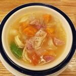 Tsubameguriru - 野菜タップリのスープ