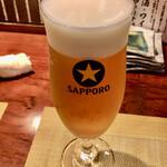 桜びより - Happy Hour セット ビール
