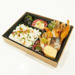 ちょいと。栞屋 - 【テイクアウト】SHIORI弁当 680円+税   …栞屋の人気メニューを詰め込んだお弁当