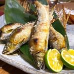 味人 - 鮎の塩焼