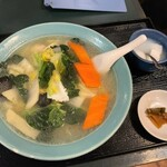 棲鳳閣 - 棲鳳閣@本郷三丁目 海鮮タン麺(750円)