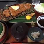 みのる - ロースカツ定食