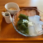 cafe こころひかる - ハーフ&ハーフ(400円)