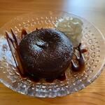 cafe こころひかる - フォンダンショコラ(400円)