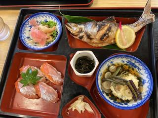 お食事処 寿 - 姫ます焼きセット