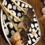 う成ル - 鰻の蒲の穂焼き
