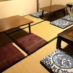 cafe こころひかる - 2階(和室)