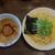 イノショウ - 料理写真:鶏と魚介の濃厚つけ麺 中盛 890円
