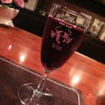 13482623 - 赤ワイン(コースに付いてきます)