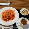 Nemunoki - 料理写真:ナポリタン(サラダ・スープ付)