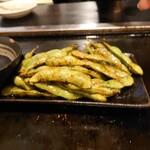なんばん亭 - 焼き枝豆