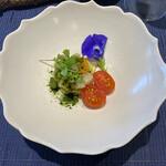 ル クーリュズ - 日間賀島産タイラ貝と枝豆