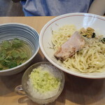 拉麺 イチバノナカ - 純和風生のり潮つけ麺〜カキ氷割付