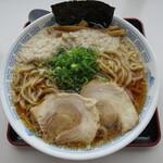 中華そば 雲ノ糸 - 煮干し中華 こってり 太麺 麵大盛