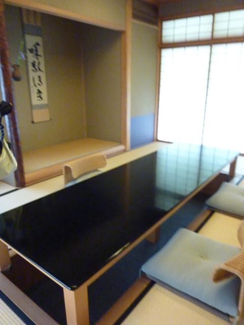 日本料理 子孫 - 一番広いお部屋でした。