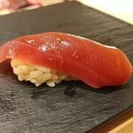 Kagurazaka sushi tamura - 赤身