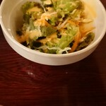 オリンピア - サラダ。 ナポリタンなどの口休めに。