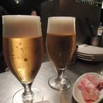 13484899 - イベリコとビールで乾杯!