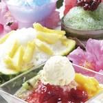 coto coto - 料理写真:美味しい美肌系かき氷が多数