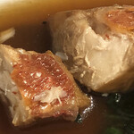 washokubiyoriosaketojimbouchou - 金目鯛の煮つけ アップ
