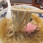 134844338 - 中華そばの細麺