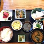 はやかわ - 寄せ豆腐定食750円